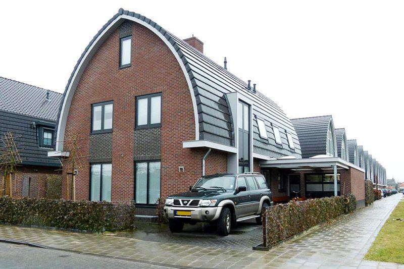 Nieuwbouw 2009 – vrijstaande woning Wetering Schans te Spakenburg