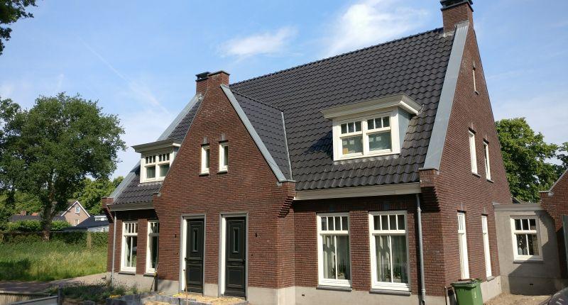 Nieuwbouw 2015 – 2 onder 1 kap woning Zandscheer te Lunteren
