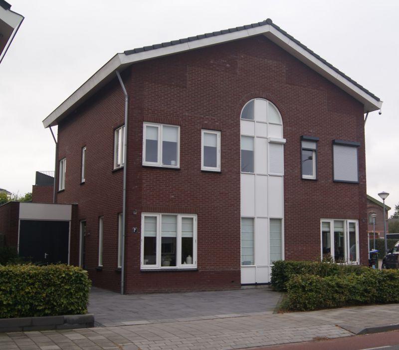 Nieuwbouw 2012 – 2 onder 1 kap woning Schaapsweg te Ede