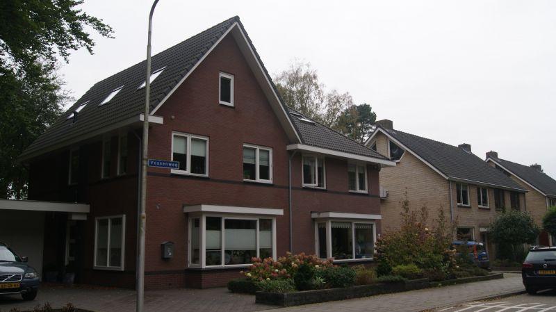 Nieuwbouw 2011 – 2 onder 1 kap woning Vosseweg te Bennekom